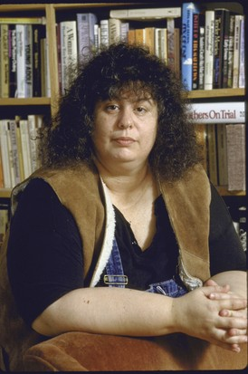 Andrea Dworkin. (Photo by William Foley/The LIFE Images Collection/Getty Images)