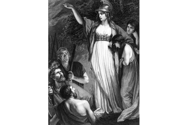 Boudicca. (Photo by Hulton Archive/Getty Images)