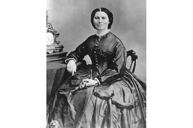 Clara Barton. (Photo by Ann Ronan Pictures/Print Collector/Getty Images)