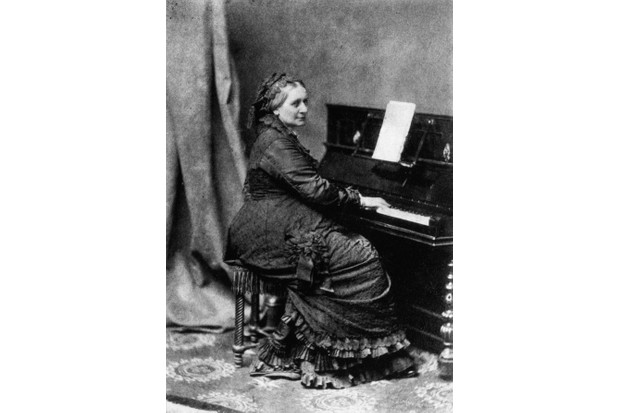 Clara Schumann. (Photo by Franz Hanfstaengl/Hulton Archive/Getty Images)