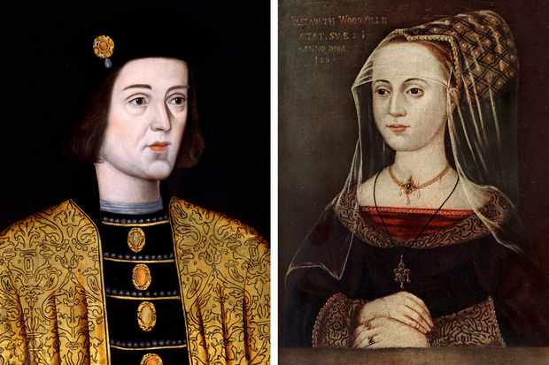 Image result for Elizabeth Woodville and sun of york pic