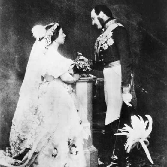 Queen Victoria and Prince Albert. (Photo by Roger Fenton/Roger Fenton/Getty Images)