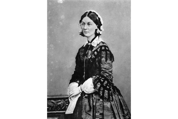 Florence Nightingale. (Photo by London Stereoscopic Company/Getty Images)