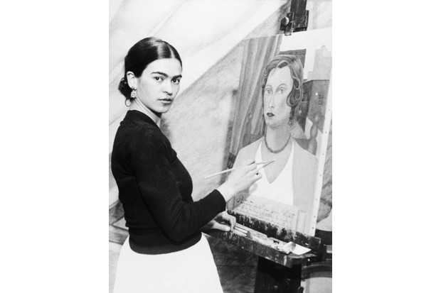 Frida Kahlo. (Photo by Bettmann/Getty Images)