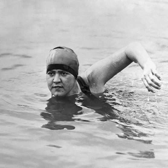 Gertrude Ederle.