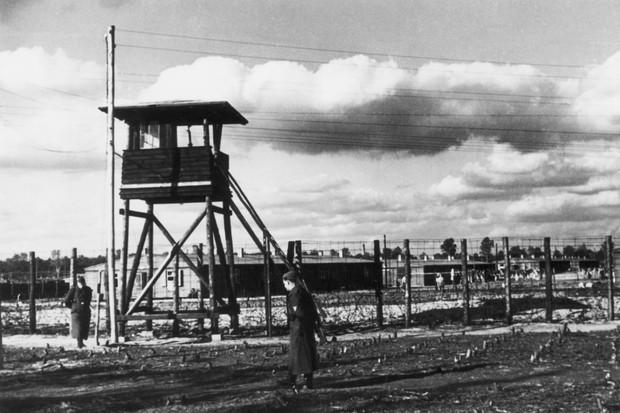 circa 1942:  Prisoner of war camp Stalag Luft III which was run by the Luftwaffe for captured airmen until its liberation on April 29, 1945.  (Photo by Hulton Archive/Getty Images)
