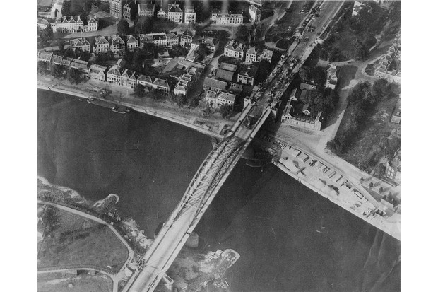 The crossing at Arnhem, which the Allies destroyed in the autumn of 1944