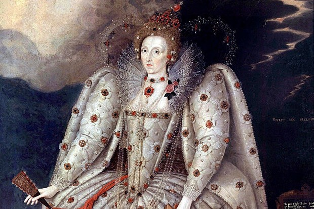 The portrait of Queen Elizabeth I known as the Ditchley portrait