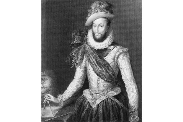 A portrait of Sir Walter Ralegh