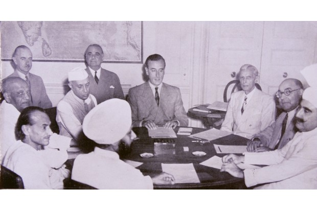 Lord Louis Mountbatten, British Viceroy of India