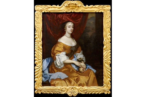 A portrait of Restoration actress Margaret 'Peg' Hughes
