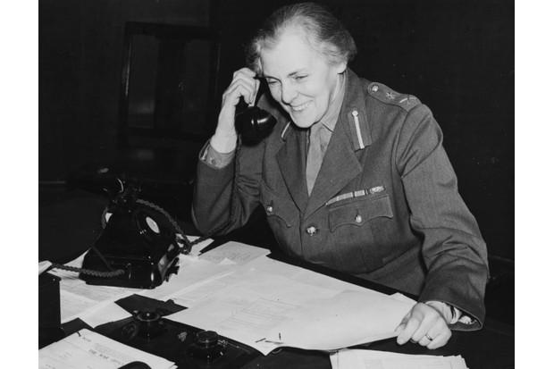 Dame Helen Gwynn-Vaughan. (Photo by Gerry Cranham/Fox Photos/Getty Images)