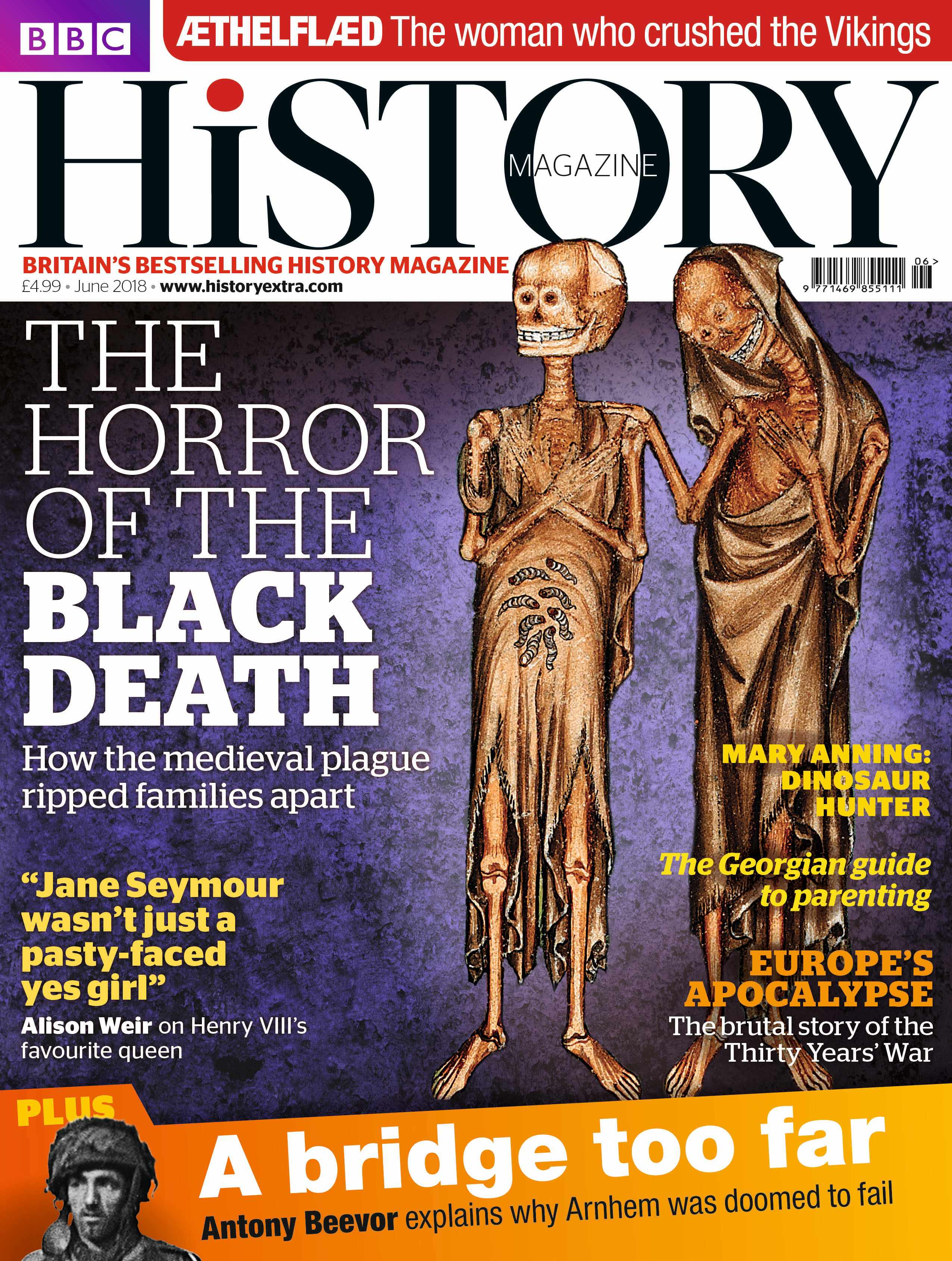 June 2018 BBC History Magazine cover