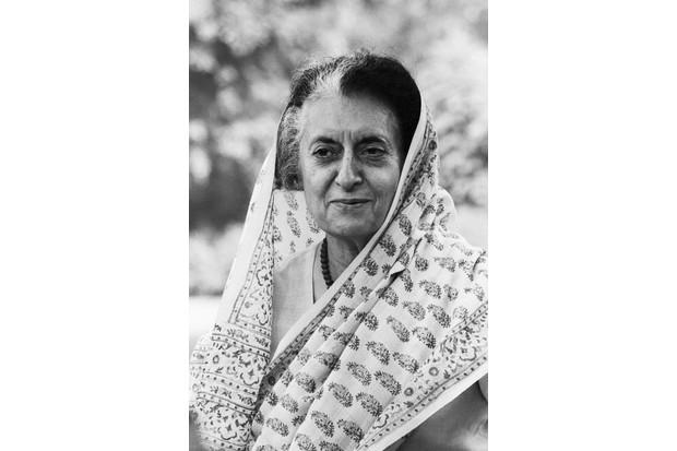 Indira Gandhi. (Photo by Bettmann/Getty Images)