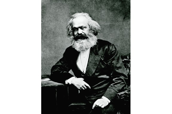 A portrait of Karl Marx, the German economist, sociologist and philosopher who is known for his work the 'Communist Manifesto'. (Getty Images)