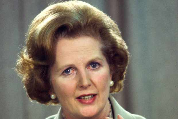 Margaret Thatcher. (Photo by Tim Graham/Getty Images)