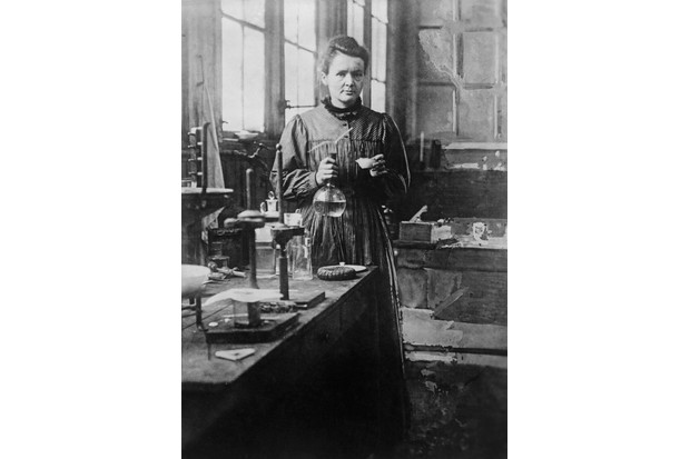 Marie Curie. (Photo by Bettmann/Getty Images)