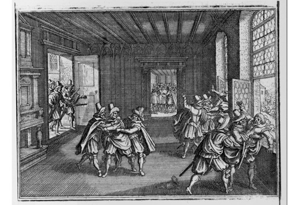 The 1618 Defenestration of Prague