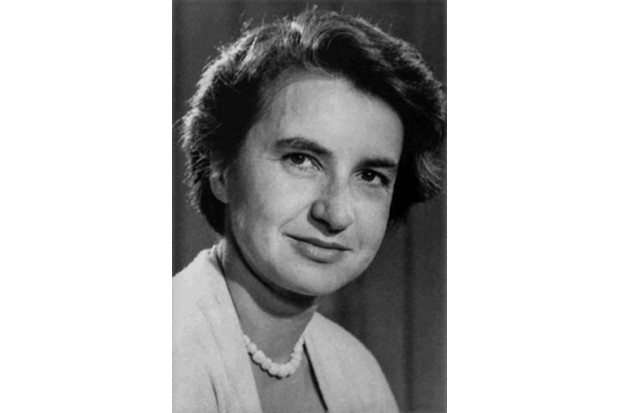 Rosalind Franklin. (Photo by Donaldson Collection/Michael Ochs Archives/Getty Images)