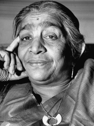 Sarojini Naidu. (Photo by Margaret Bourke-White/The LIFE Picture Collection/Getty Images)