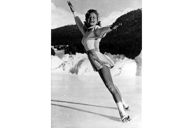 Sonja Henie. (Photo by ullstein bild/ullstein bild via Getty Images)