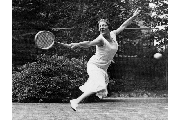 Suzanne Lenglen. (Photo by Bettmann/Getty Images)