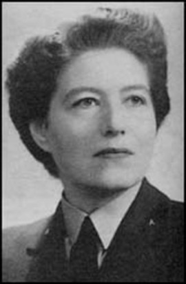 Vera Atkins. (Photo by Military History Collection / Alamy Stock Photo)