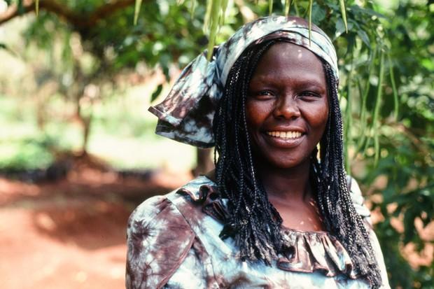Wangari Maathai.(Photo by Wendy Stone/Corbis via Getty Images)
