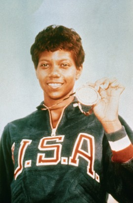 Wilma Rudolph. (Photo by Bettmann/Getty Images)