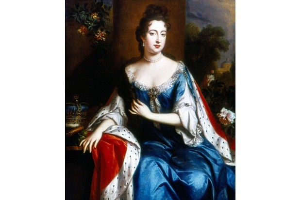 A portrait of Queen Anne, attributed to Godfrey Kneller. (Photo by Universal History Archive/Getty Images)