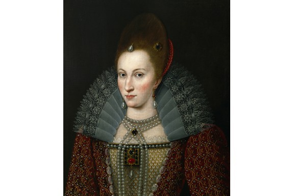 Anne of Denmark, wife of James I of England. Although she gave the appearance of a dutiful consort, Anne was ambitious for power and meddled in politics, says Tracy Borman. (Photo by Imagno/Getty Images)