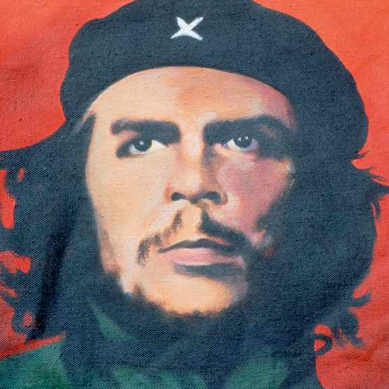 How is the image of revolutionary Che Guevara commodified? Alex von Tunzelmann explores. (Photo by Francois ANCELLET/Gamma-Rapho via Getty Images)