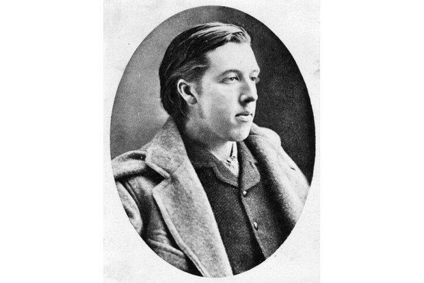Wilde as a young man, c1878. (Photo by Hulton Archive/Getty Images)