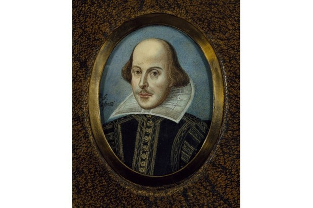 A portrait of William Shakespeare, found in the collection of Folger Shakespeare Library. (Photo by Fine Art Images/Heritage Images/Getty Images)