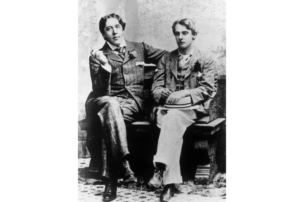 Oscar Wilde and Lord Alfred 'Bosie' Douglas, c1893. (Photo by Hulton Archive/Getty Images)