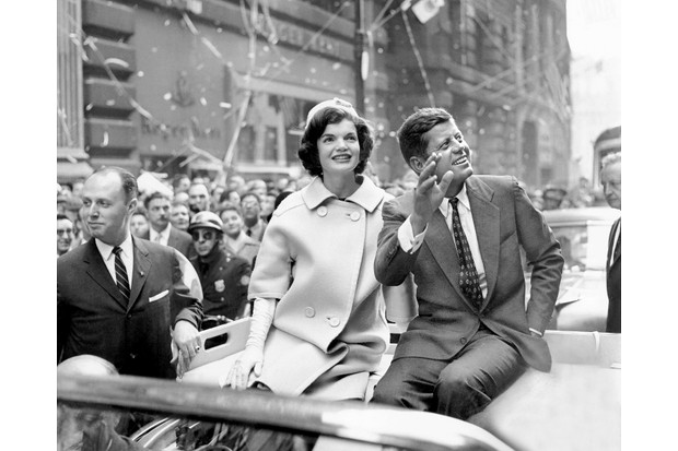 The so-called 'Kennedy curse' was a tragic sequence of events that befell the Kennedy family throughout the 20th century. John F Kennedy, pictured with his wife Jackie during his campaign for the presidency, was assassinated in Dallas, Texas, in 1963. (Photo by Frank Hurley/NY Daily News Archive via Getty Images)