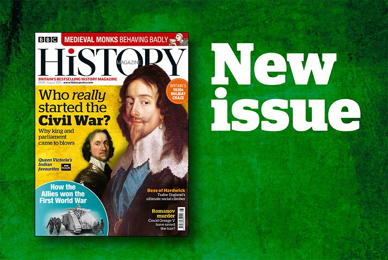 BBC History Magazine August 2018 issue