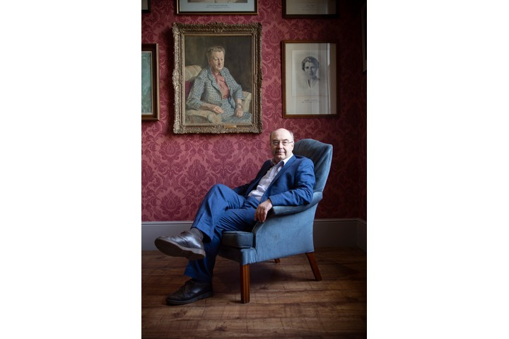 Historian David Edgerton. (Photographed by Fran Monks for BBC History Magazine)