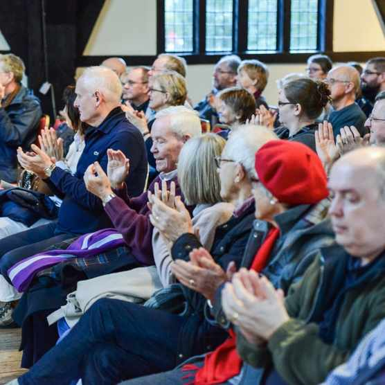 Audience members at York History Weekend 2017.