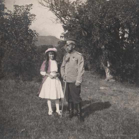 Anastasia and Nicholas. (Photo courtesy of Romanov100 project)
