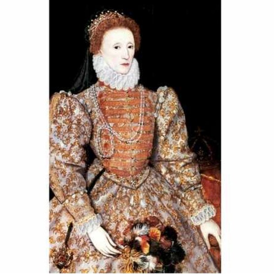 Elizabeth I, queen of England and Ireland, c1588. (Photo by Ann Ronan Pictures/Print Collector/Getty Images)