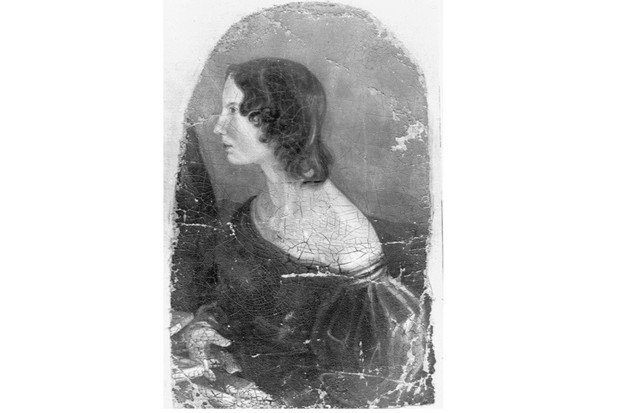 A profile portrait of the Victorian novelist and poet Emily Jane Brontë (1818–48), now in the National Portrait Gallery. Brontë is best known for her novel 'Wuthering Heights', published in 1847. (Photo by Time Life Pictures/Mansell/The LIFE Picture Collection/Getty Images)