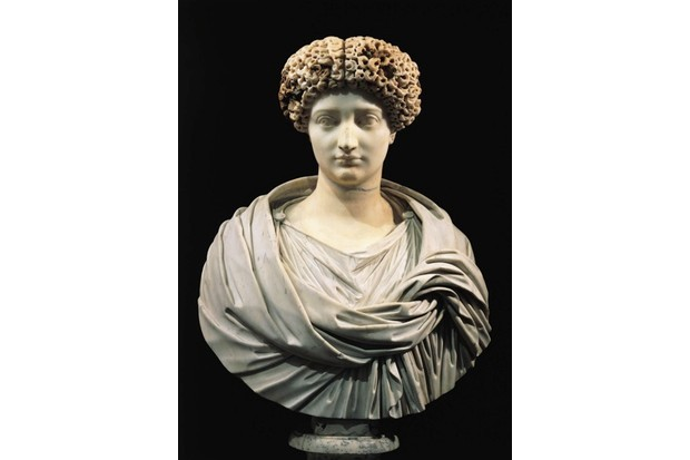 Marble bust of Julia, who was exiled by her father, the emperor Augustus. (Getty Images)