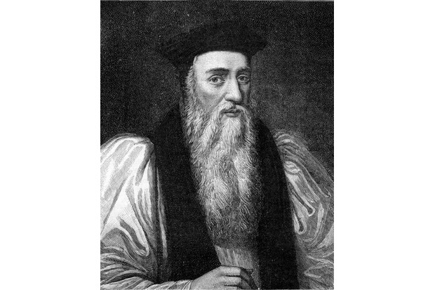 Archbishop Thomas Cranmer. (Photo by Culture Club/Getty Images)