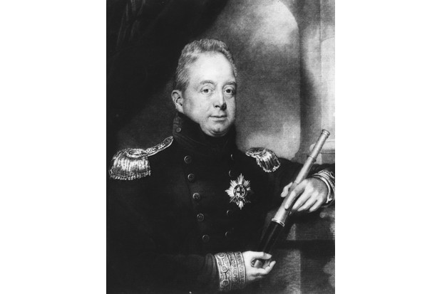 Queen Victoria's predecessor, King William IV, is believed to have been a hay fever sufferer. (Photo by Hulton Archive/Getty Images)