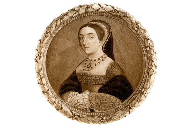 """Catherine Howard was """"condemned to death by an Act of Attainder, signed by her own husband's hand"""". Illustration taken from Henry VIII by AF Pollard, 1902. (Photo by The Print Collector/Print Collector/Getty Images)"""