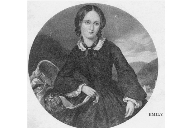 A portrait of Emily Brontë. (Photo by Time Life Pictures/Mansell/The LIFE Picture Collection/Getty Images)