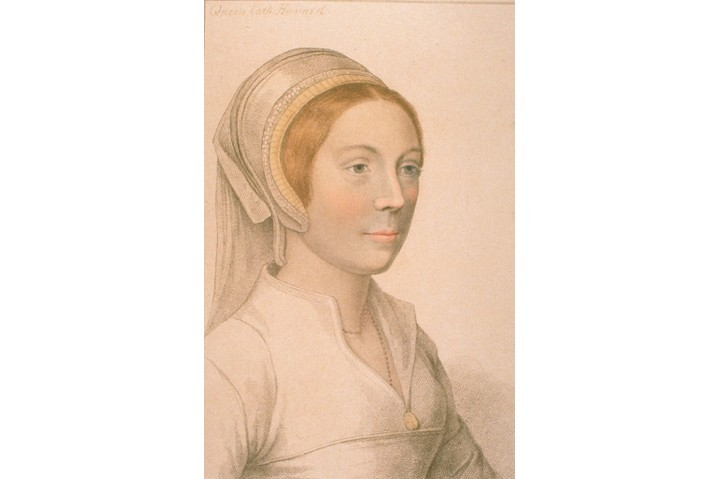 Portrait of Catherine Howard, the fifth wife of Henry VIII, from a painting by Hans Holbein the Younger. (Photo by Time Life Pictures/Mansell/The LIFE Picture Collection/Getty Images)