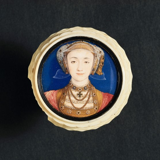 A portrait of Anne of Cleves by Hans Holbein the Younger. (Photo by © Historical Picture Archive/CORBIS/Corbis via Getty Images)