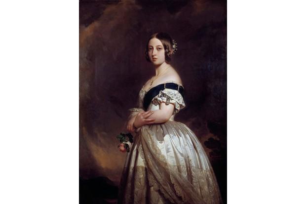 A portrait of the young Queen Victoria by Franz Winterhalter. (Leemage/Corbis via Getty Images)